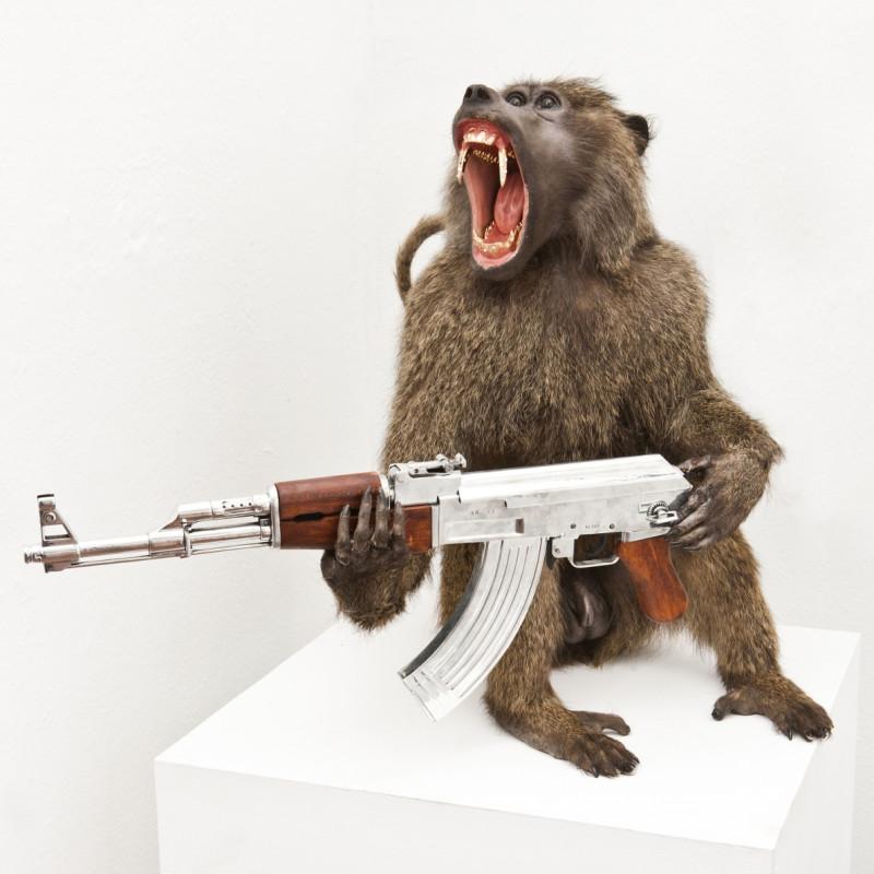Peter Gronquist, Baboon, 2015