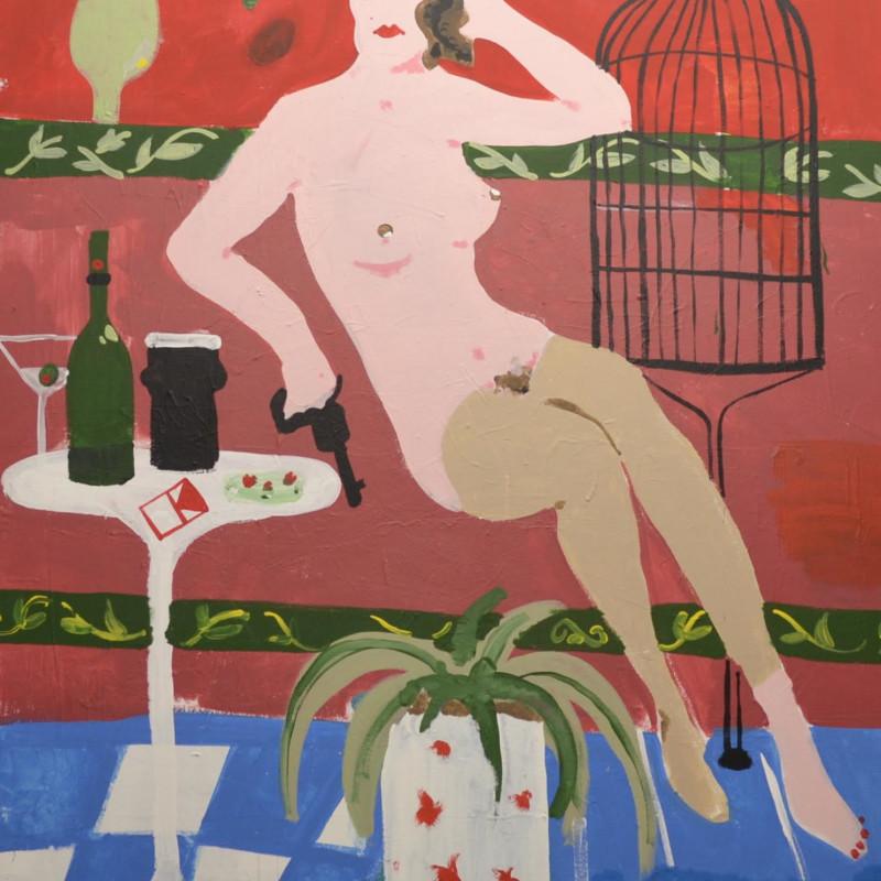 Peter Doyle, Girl on Hardcourt St.