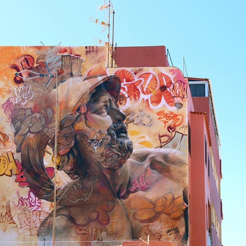 PichiAvo, Urban Warrior, 2016