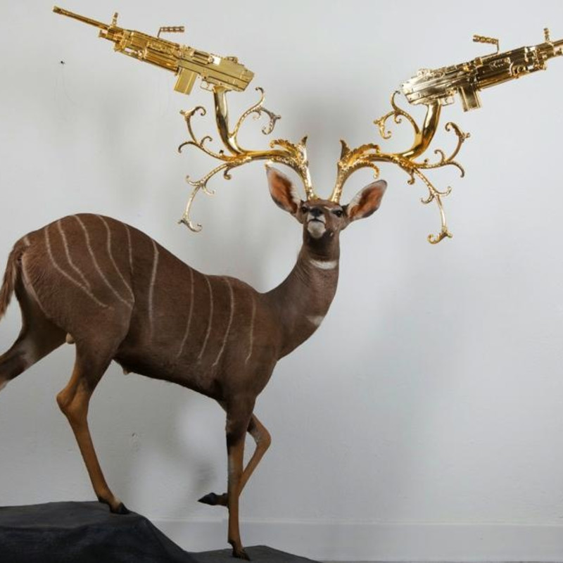 Peter Gronquist, Lesser Kudu, 2015
