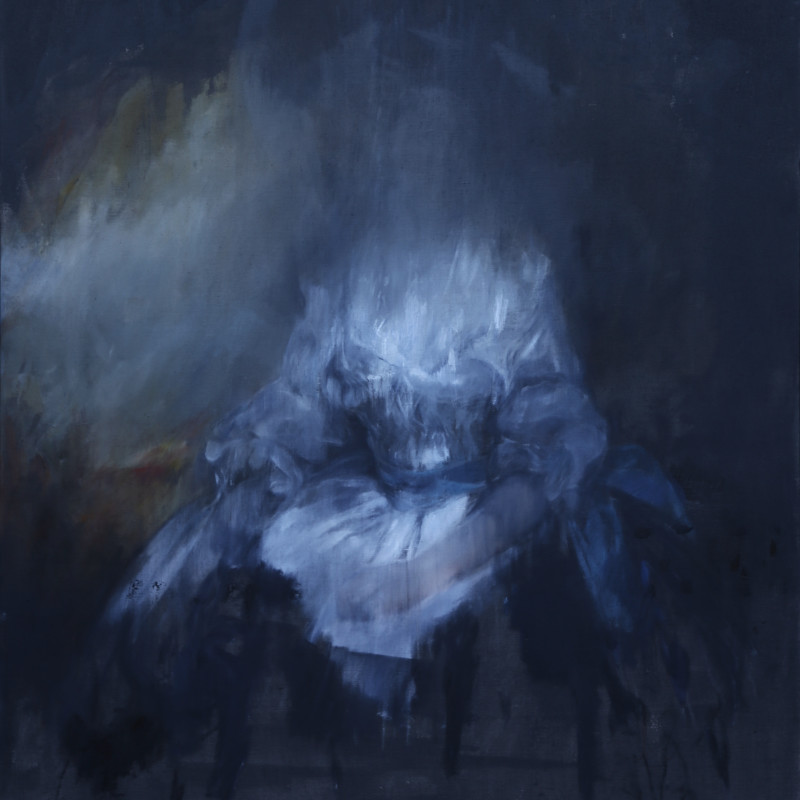 Jake Wood-Evans, Mrs Francis Russell, after Romney, 2017