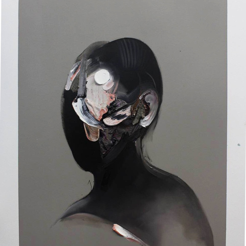 Ryan Hewett, Titanium White Highlight, 2016
