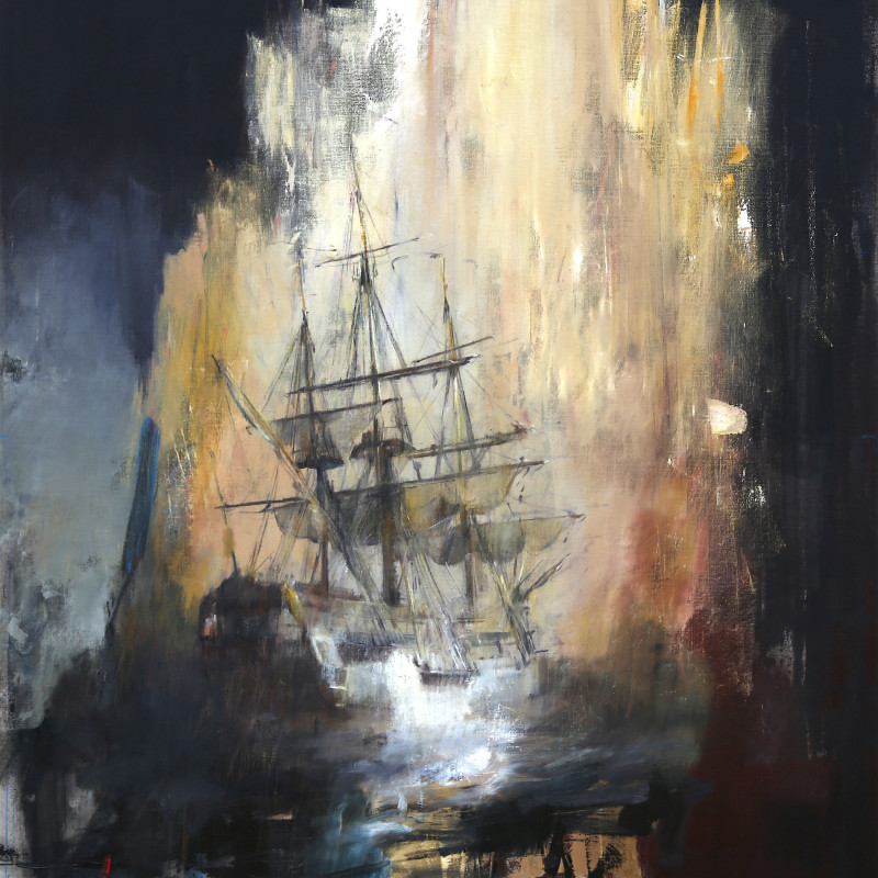 Jake Wood-Evans, Vessel at Sea, 2017