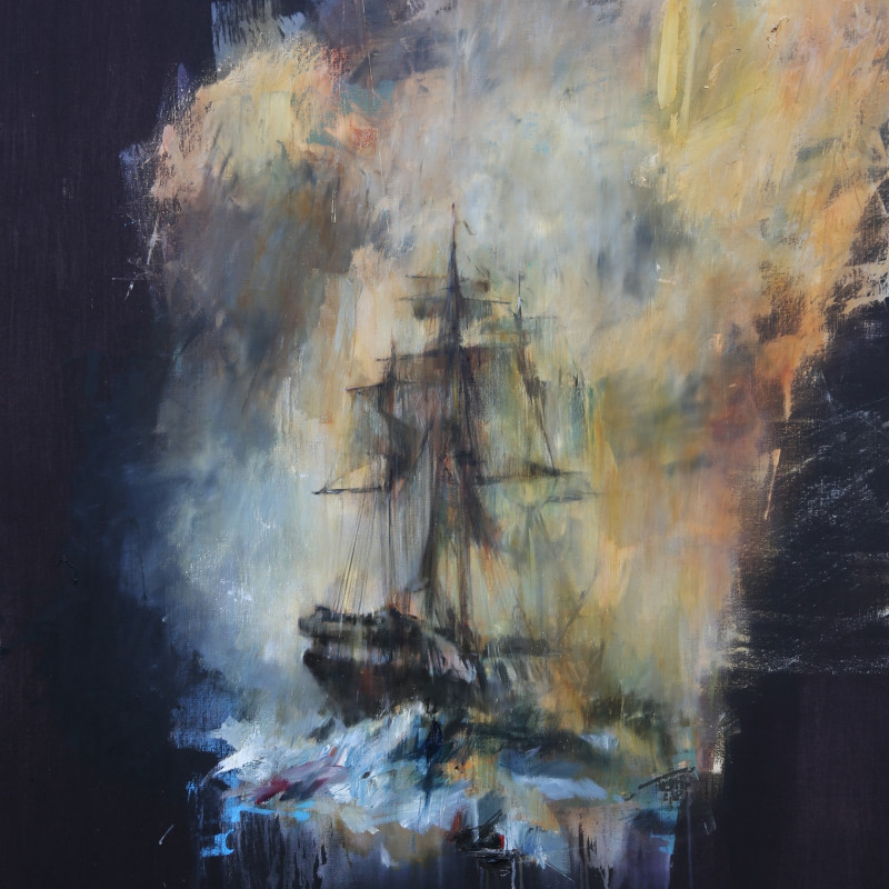 Jake Wood-Evans, Eighteenth Century Ship 2, 2016