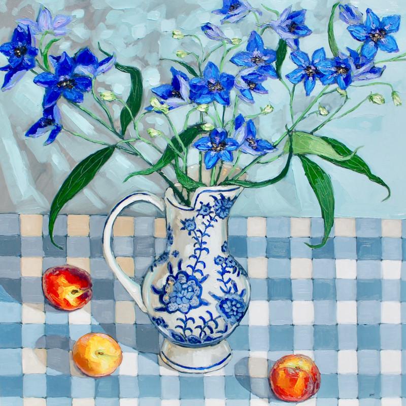Halima Washington-Dixon, Blues and peaches SOLD