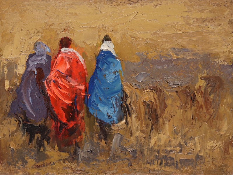 Mary Roberson, Windy Day