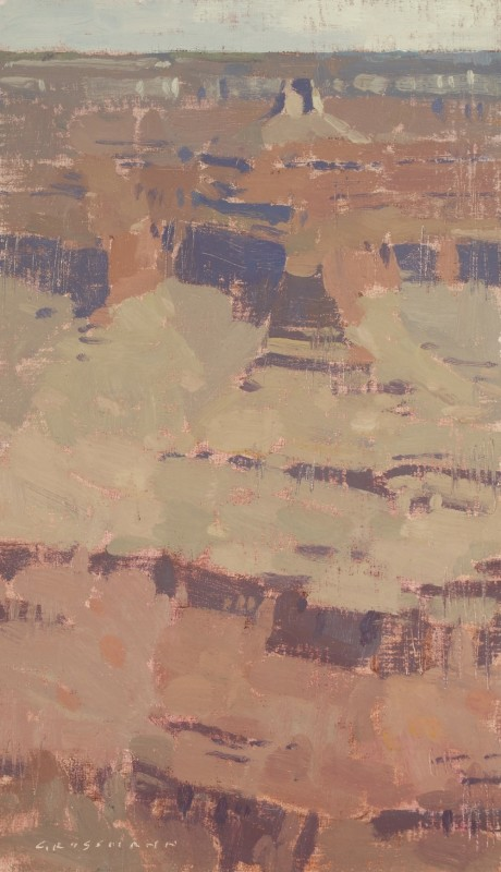 David Grossmann, Canyon Heights, Study