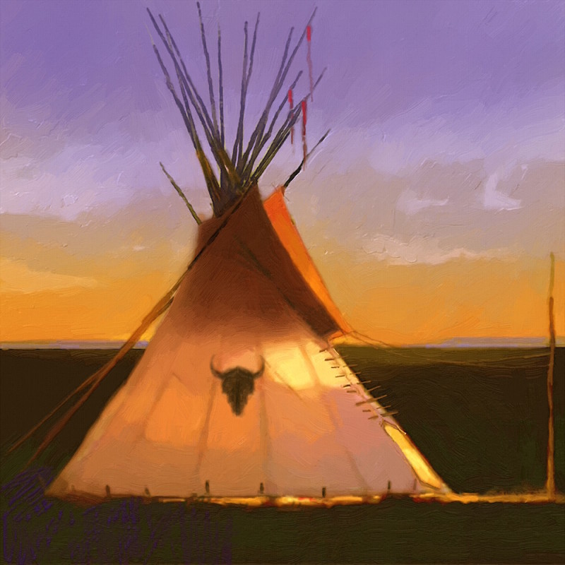 R. Tom Gilleon | Nine Little Tipis