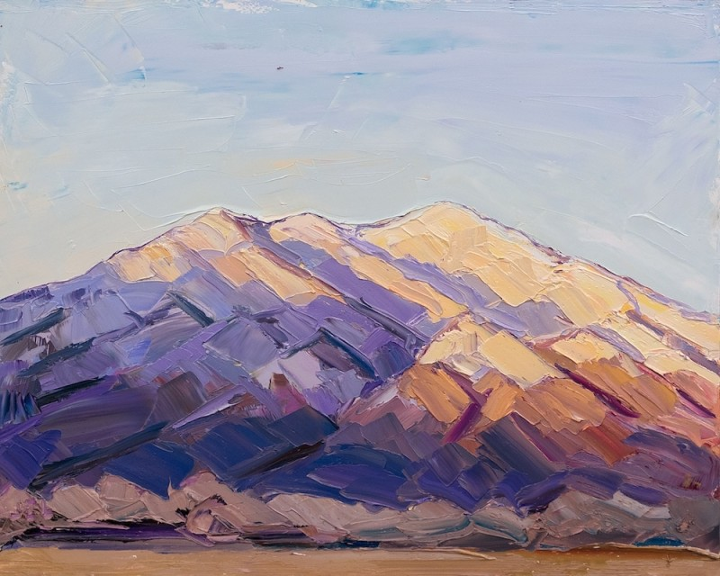 Jivan Lee, Taos Mountain, Day's End