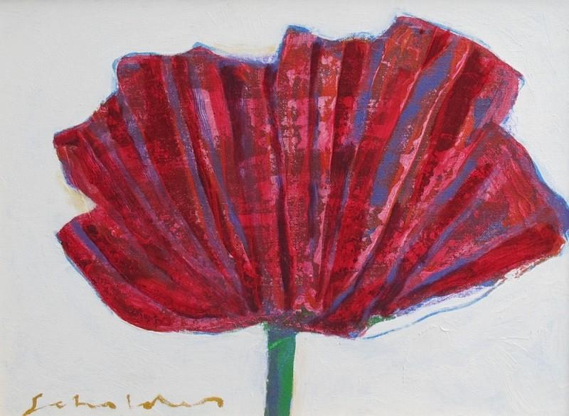 Fritz Scholder, Wild Poppy, 2002