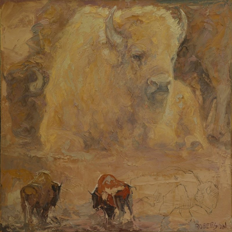 Mary Roberson, For The White Bison