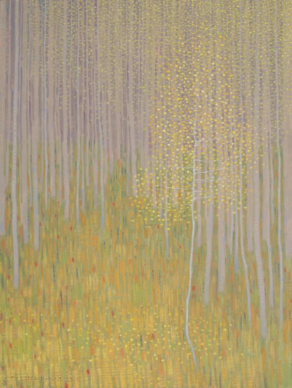 David Grossmann, Forest Edge in Early Autumn