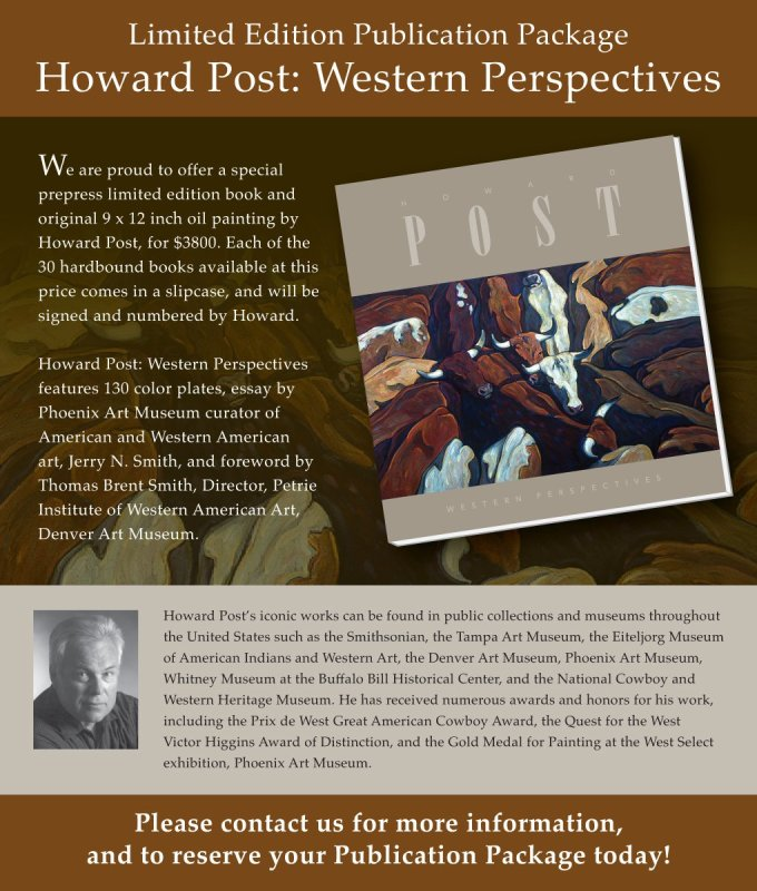 Howard Post, Howard Post: Western Perspective