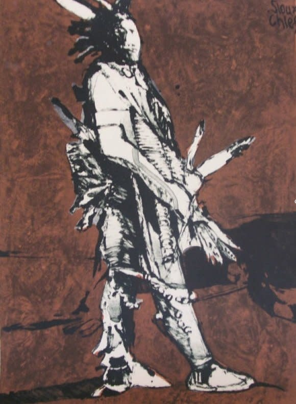 Fritz Scholder, Sioux Chief #79/150