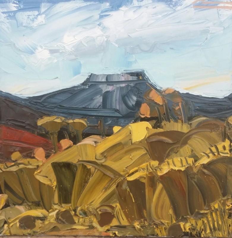 Mateo Romero, Tsi Ping/ Flint Mountain #3