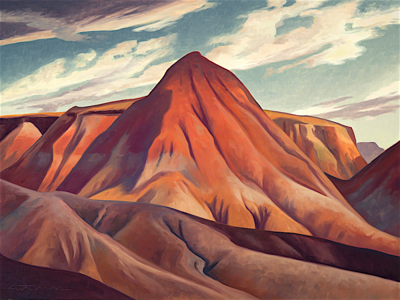 Ed Mell, Volcanic Past