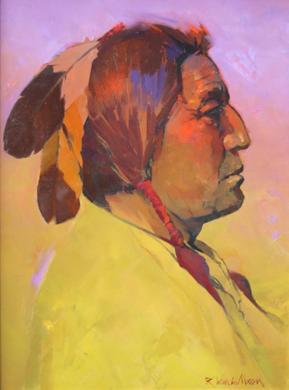 R. Tom Gilleon, Two Gun White Calf