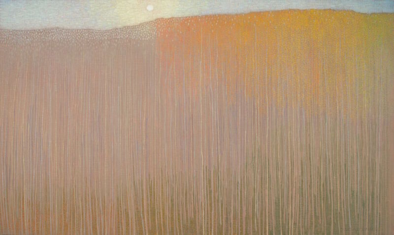 David Grossmann, Lowering Sun and Fading Autumn Forest