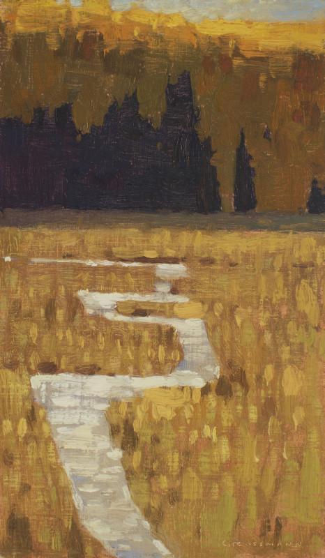 David Grossmann, Mountain Autumn Stream