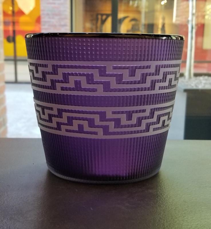 Preston Singletary, Tlingit Berry Basket: #B19-48 Purple/Midnight