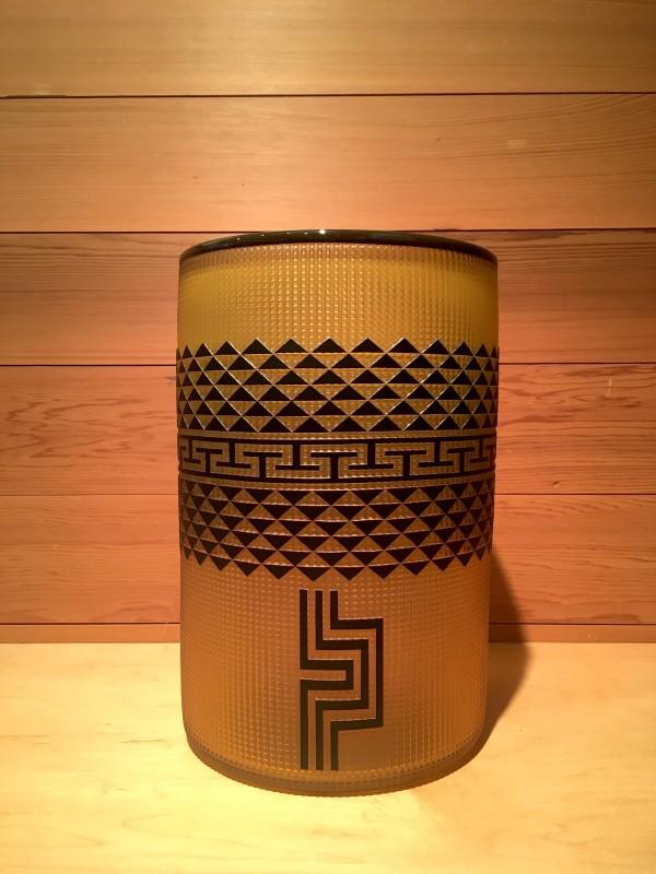 Preston Singletary, Tlingit Shelf Basket: #B17-105 Amber/Black
