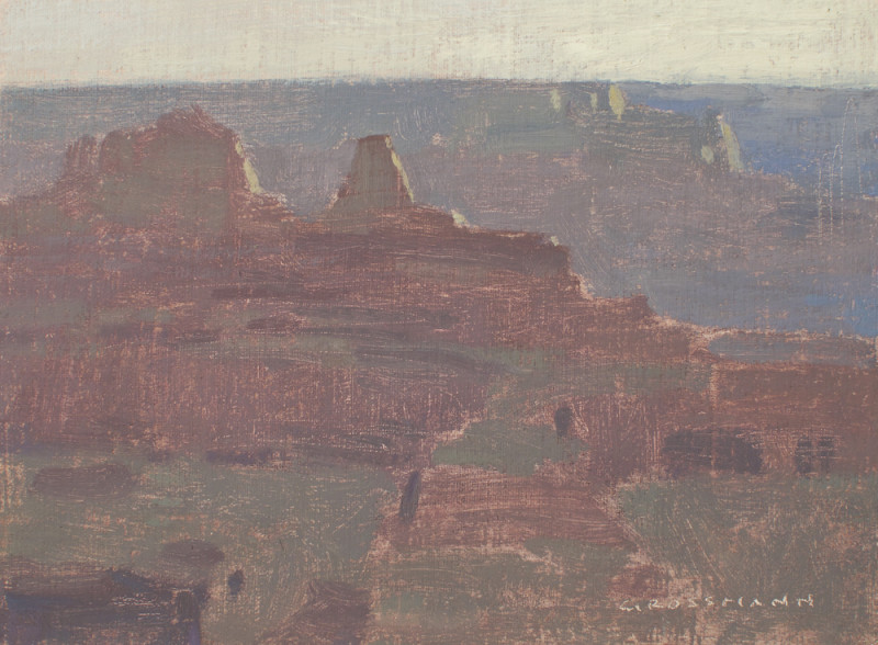 David Grossmann, Hazy Morning Light, Grand Canyon
