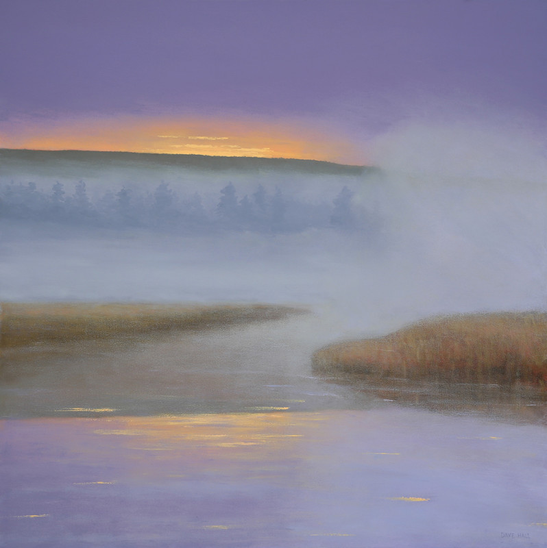 Dave Hall, Dawn in Lavender