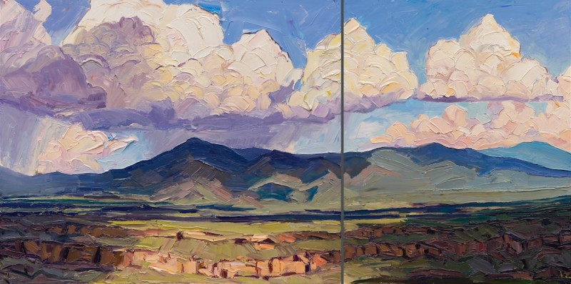 Jivan Lee, Storm Above Lobo Peak