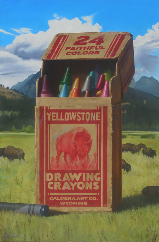 Ben Steele, Yellowstone Crayons