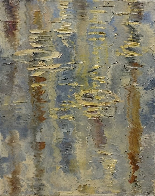 James Pringle Cook, Raindrops - Morning Study #1