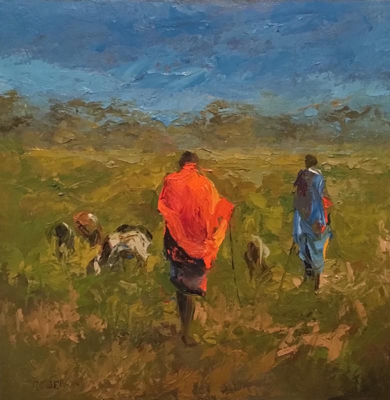 Mary Roberson, Kenya Goat Herders