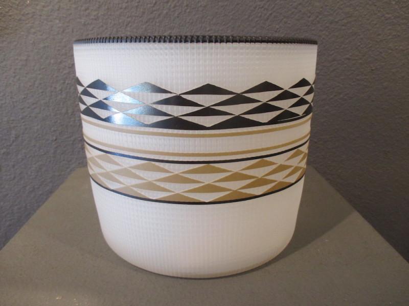 Preston Singletary, Tlingit Shelf Basket: #B18-131 White/Black
