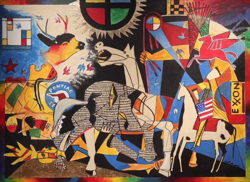 Stan Natchez, Guernica to Wounded Knee