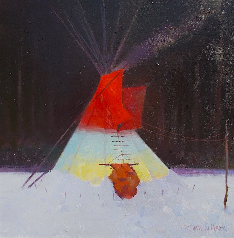 R. Tom Gilleon, Hungry Moon Lodge