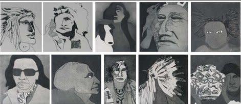 Fritz Scholder, Ten Indians