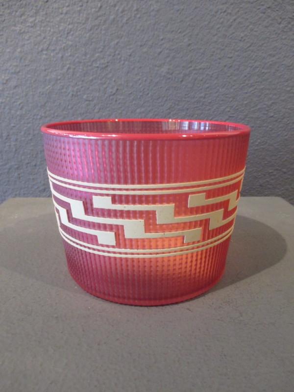 Preston Singletary, Tlingit Berry Basket: #B18-136 Salmon/Red