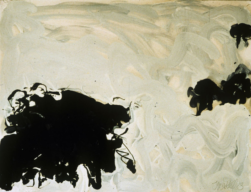 Works on Paper by Theodore Waddell, Angus Dr. #7, 1983