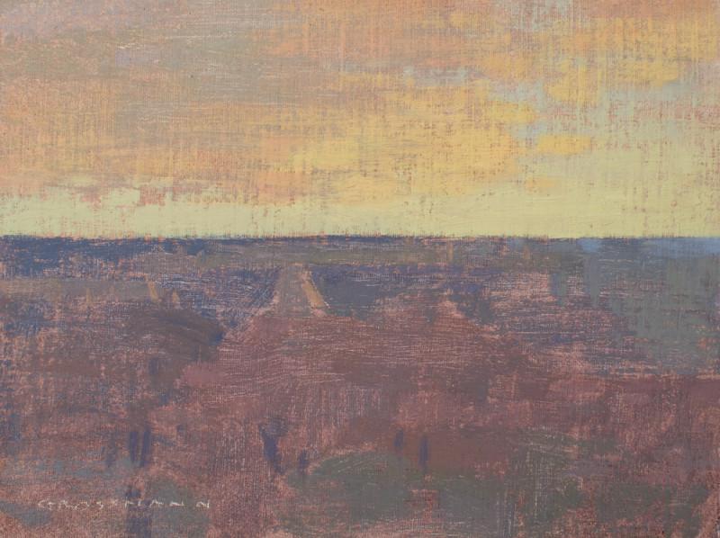 David Grossmann, First Colors of Sunrise, Grand Canyon