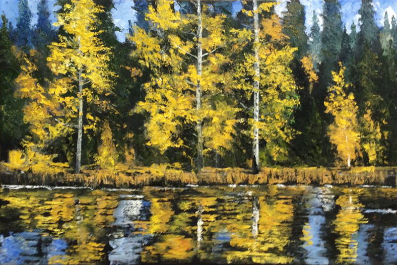 James Pringle Cook, Aspen Lake
