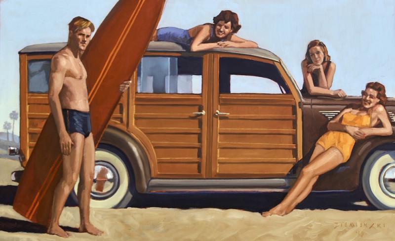 Dennis Ziemienski, Surfing Lessons