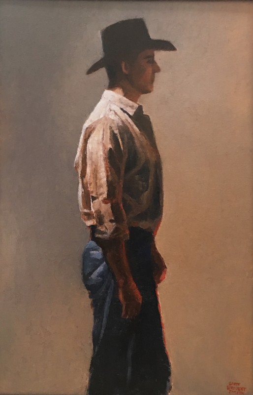 Gary Ernest Smith - Cowboy with Profile