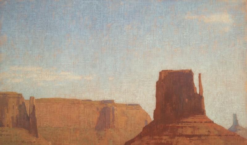 David Grossmann, Cliffs and Open Sky, Monument Valley