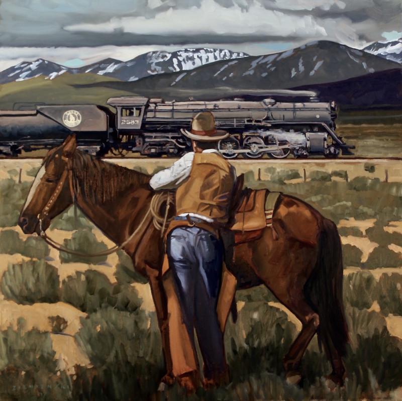Dennis Ziemienski, Along the Great Northern