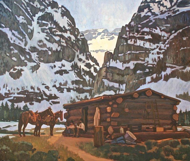 Dennis Ziemienski, Teton Cabin