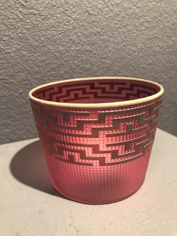 Preston Singletary, Tlingit Berry Basket: #B18-117 Berry/Grey