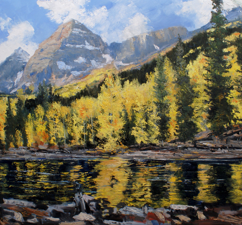 James Pringle Cook, Maroon Bells Creek
