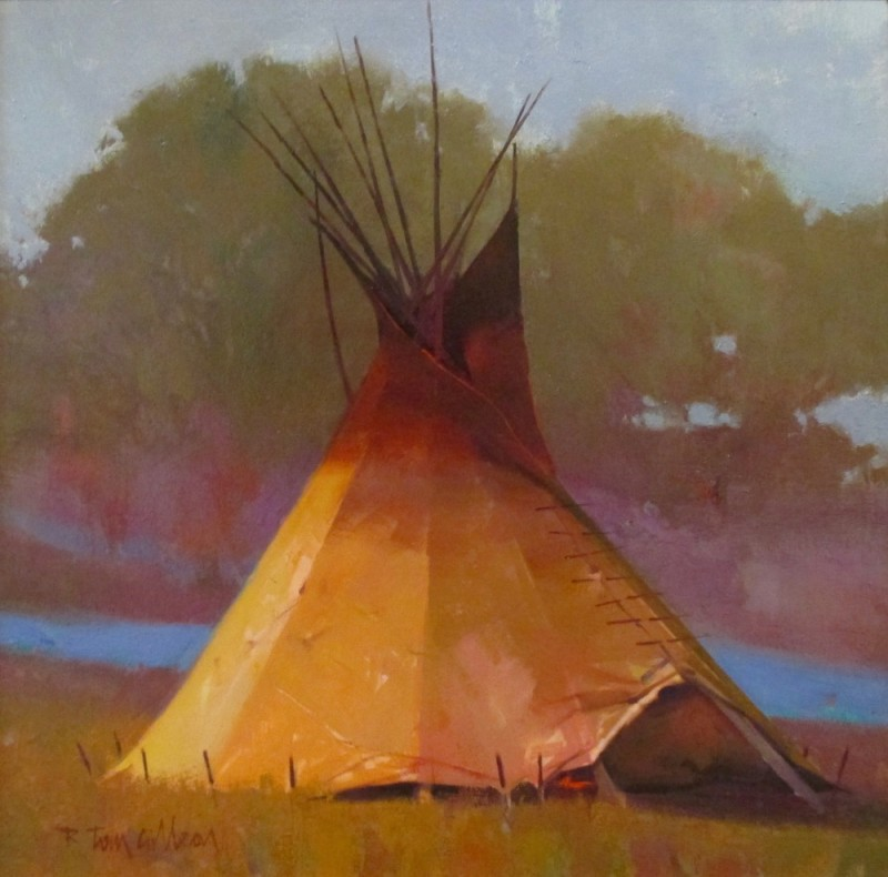 R. Tom Gilleon | Ten Little Tipis