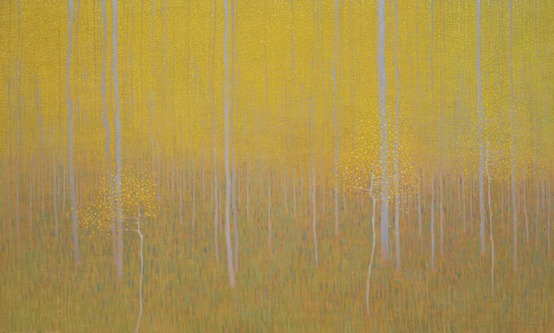 David Grossmann, Yellow Aspen Patterns