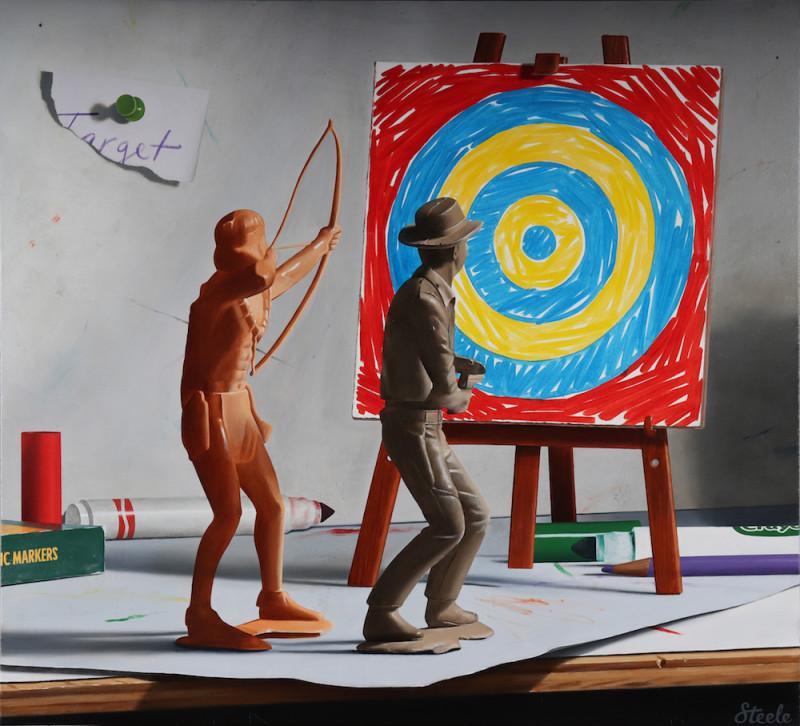 Ben Steele, John's Target Practice