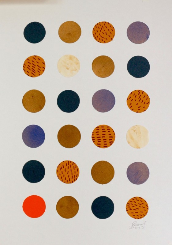 Karen Stewart, Composition V, 2018